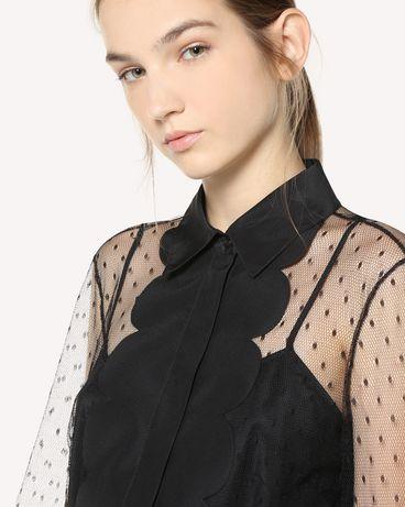 REDValentino QR3AB1P51GW 0NO Shirt Woman e