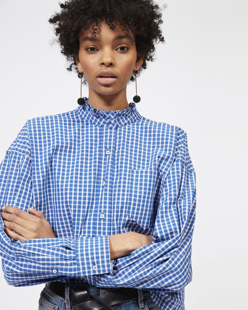 OLENA checked shirt ISABEL MARANT ÉTOILE