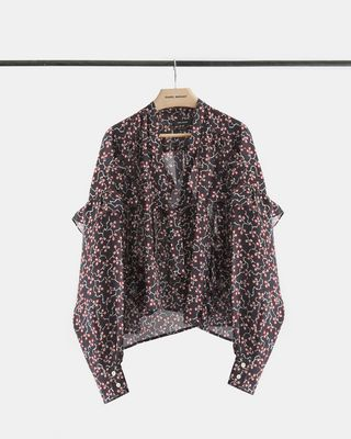 LIBEL printed top