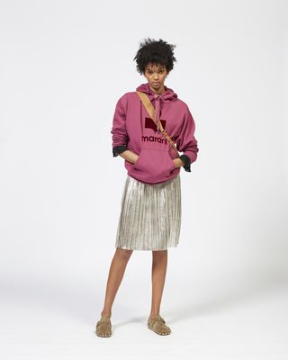 MANSEL oversize hooded sweatshirt