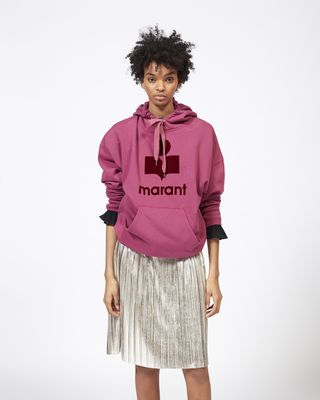 ISABEL MARANT ÉTOILE SWEATSHIRT Woman MANSEL oversize hooded sweatshirt r
