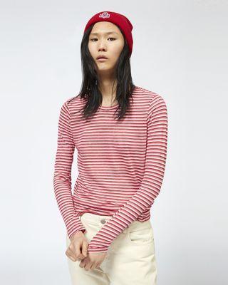 ISABEL MARANT ÉTOILE T-SHIRT Woman KAARON long sleeved T-shirt r