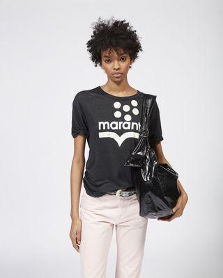 ISABEL MARANT ÉTOILE T-SHIRT Woman KOLDIA logo T-shirt r