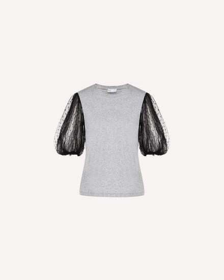 REDValentino T 恤 女士 QR3MG09V40L L80 a