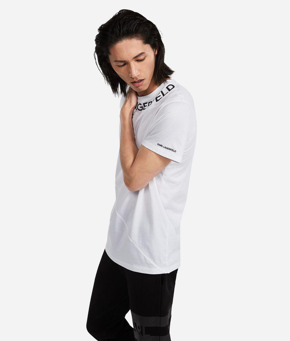 KARL LAGERFELD Panelled Logo T-Shirt T-shirt Man d