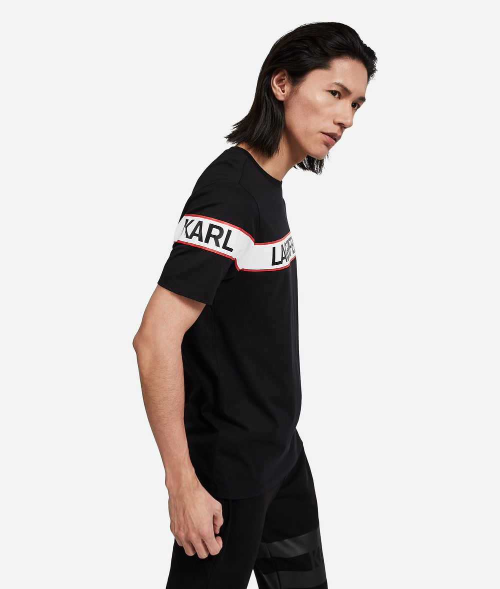 KARL LAGERFELD Logo T-Shirt T-shirt Man d