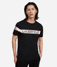 KARL LAGERFELD T-shirt à logo 9_f