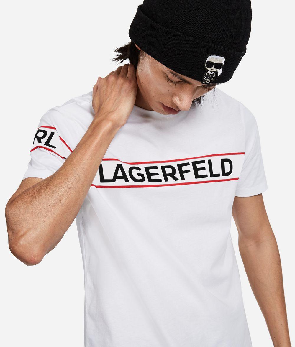 KARL LAGERFELD Logo T-Shirt T-shirt Man f