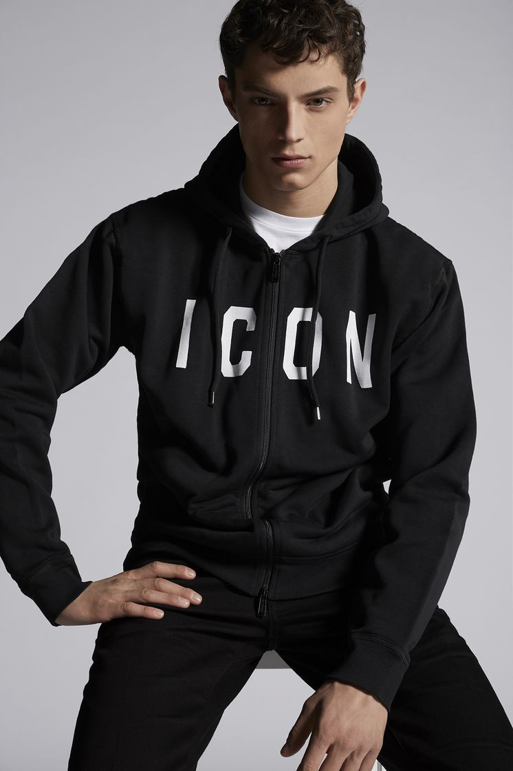 DSQUARED2 Icon Zipped Sweatshirt Zip sweatshirt Man