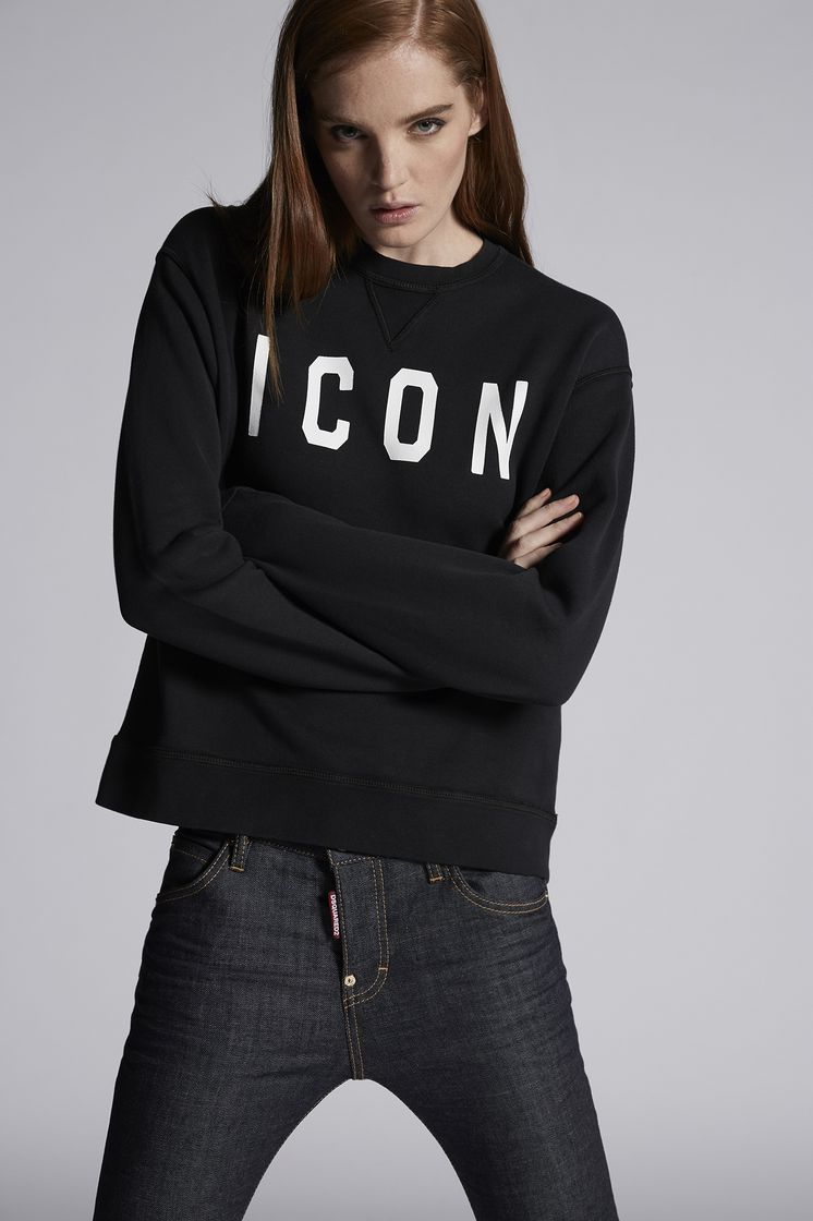 DSQUARED2 Icon Sweatshirt Sweatshirt Woman