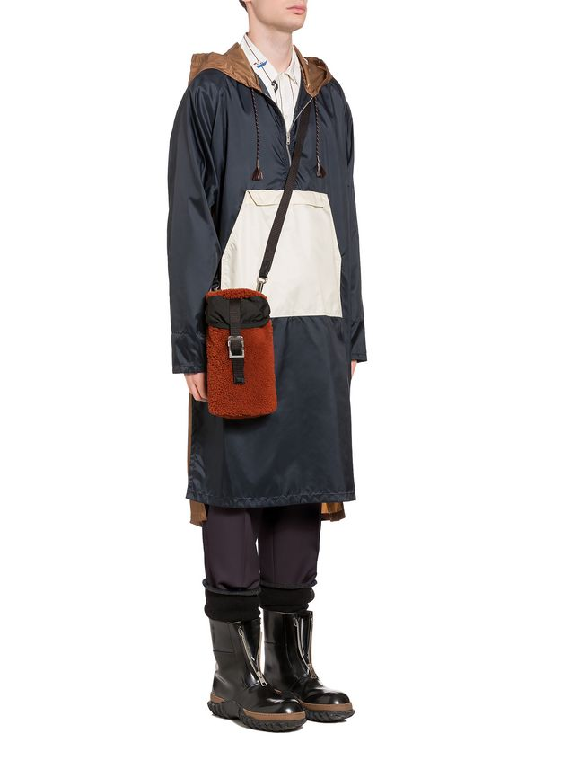 Marni Coat in light coated nylon Man - 5