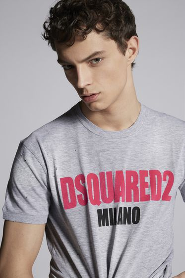 DSQUARED2 Short sleeve t-shirt Man S74GD0412S22844900 m