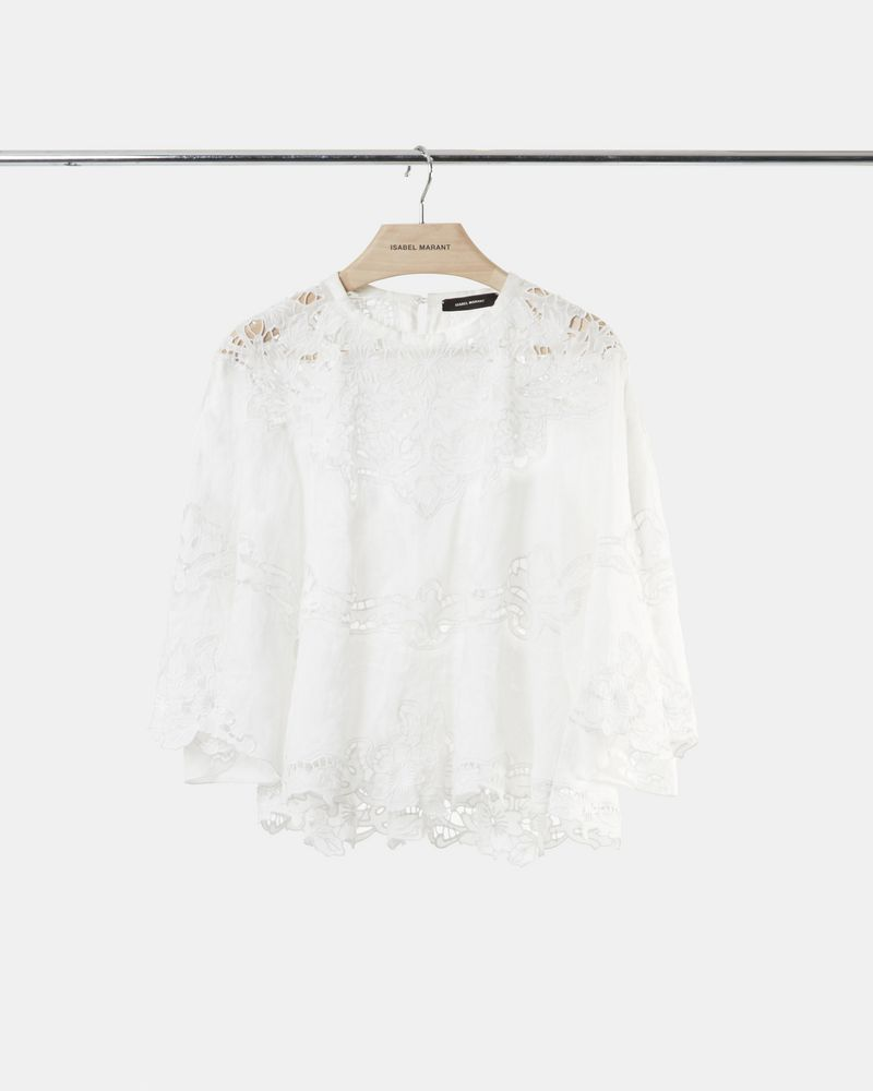 MARLO top in ramie fabric ISABEL MARANT