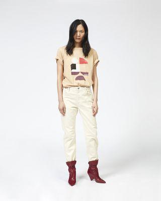 TEWEL 프린트 티셔츠