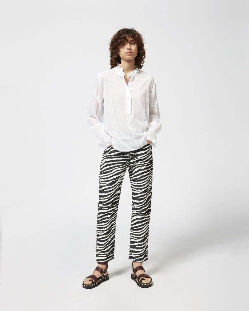 LOUNA embroidered blouse ISABEL MARANT ÉTOILE
