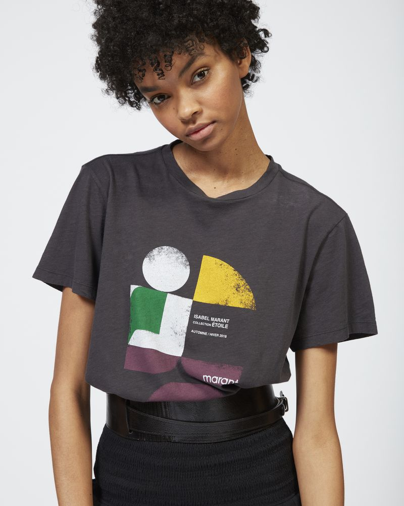TEWEL 印纹 T 恤 ISABEL MARANT ÉTOILE