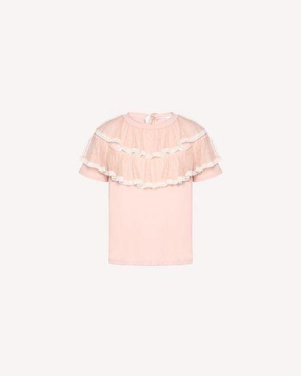 REDValentino T-shirt Femme QR3MG09T40G 377 a