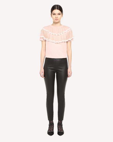 REDValentino T-shirt Femme QR3MG09T40G 377 f