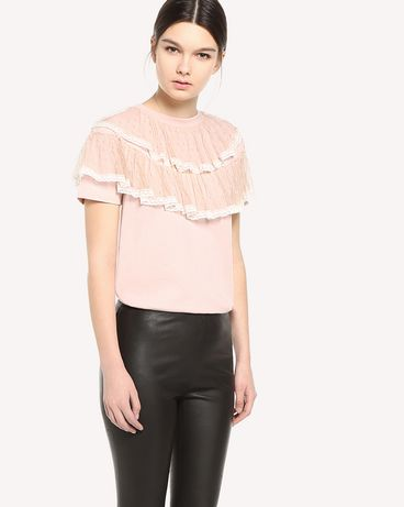 REDValentino QR3MG09T40G 377 T-Shirt Woman d