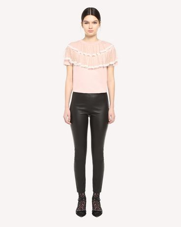 REDValentino QR3MG09T40G 377 T-Shirt Woman f