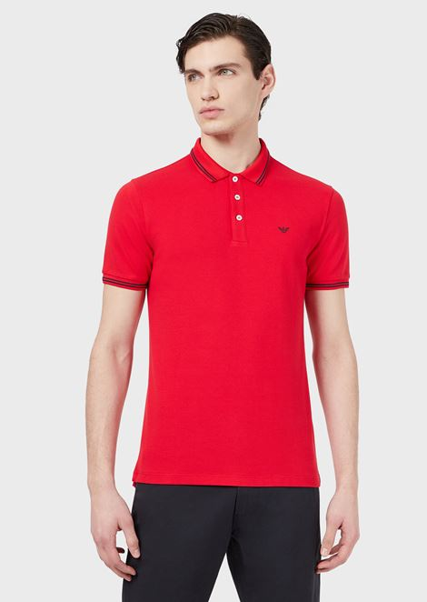 bef88bfa Men's Polo Shirts | Emporio Armani