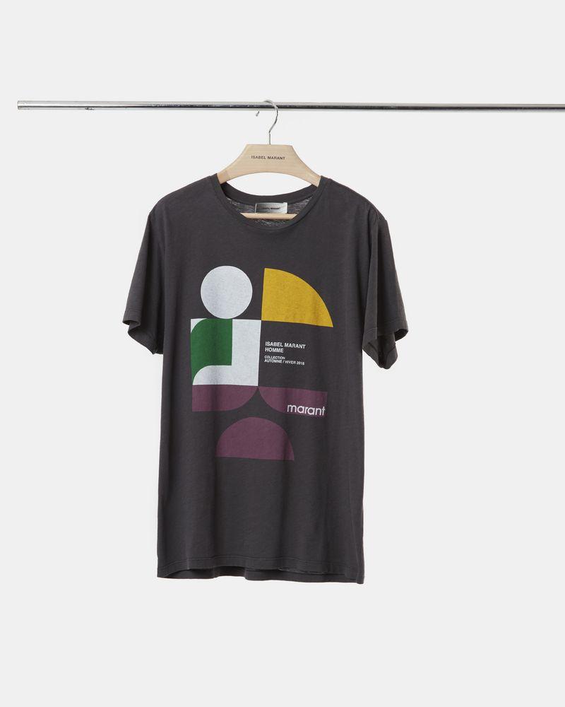 ZAFFERH プリント Tシャツ ISABEL MARANT