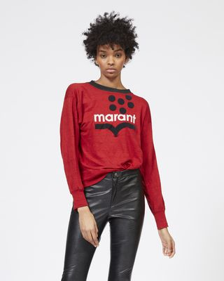 ISABEL MARANT ÉTOILE MANCHES LONGUES Femme Tee-shirt à manches longues KLOWYN r