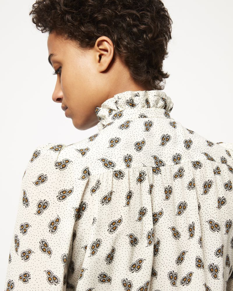 LAMIA printed silk shirt ISABEL MARANT