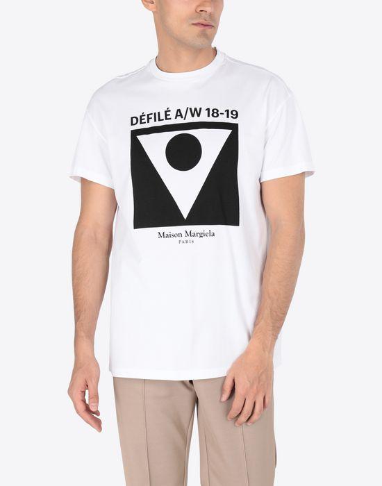 MAISON MARGIELA Printed cotton T-shirt Short sleeve t-shirt [*** pickupInStoreShippingNotGuaranteed_info ***] r