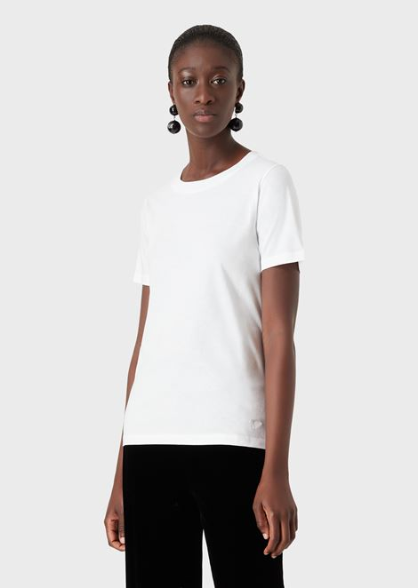クルーネックTシャツ ピュアコットンジャージー製