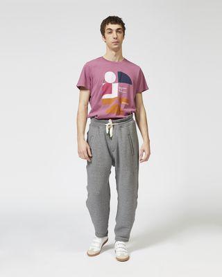 ISABEL MARANT Tシャツ メンズ ZAFFERH プリント Tシャツ r
