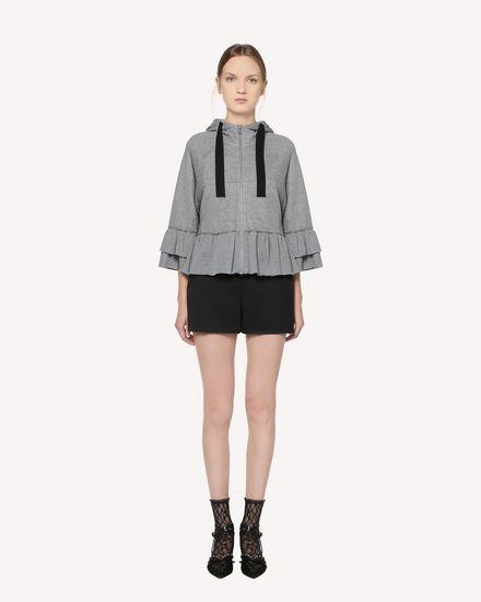 REDValentino Sweatshirt Woman QR3MF06B3YY L80 f