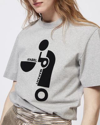ISABEL MARANT T-SHIRT Woman YARDLEY cotton T-shirt r