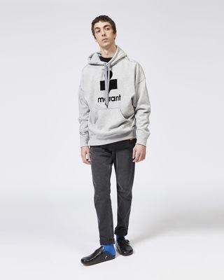 ISABEL MARANT スウェットシャツ メンズ MILEY オーバーサイズ スウェットシャツ r