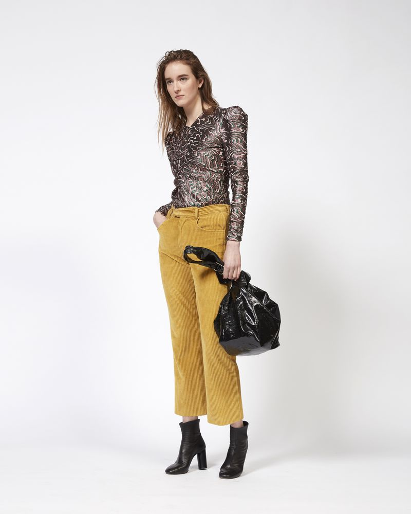SEAN top in lurex jacquard ISABEL MARANT