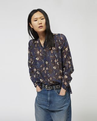 ISABEL MARANT ÉTOILE SHIRT & BLOUSE Woman MARIA buttoned top r