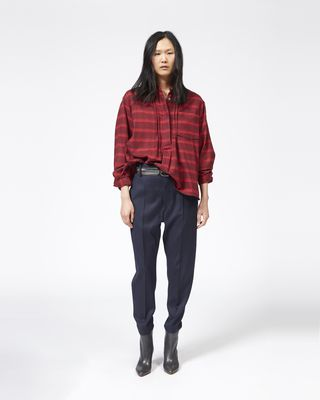 ISABEL MARANT ÉTOILE SHIRT & BLOUSE Woman DACYO checked top r