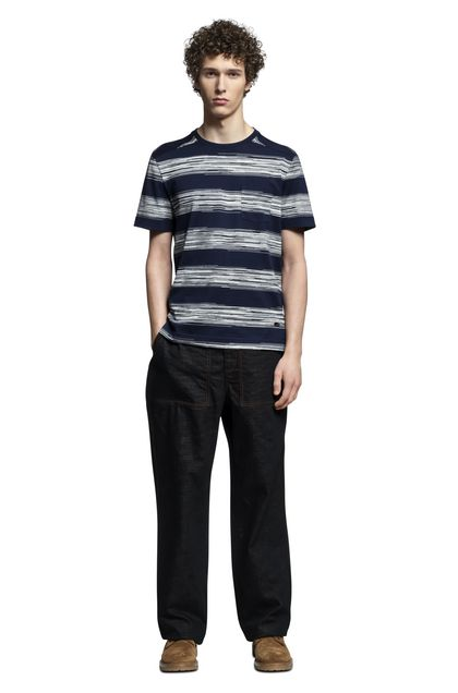 MISSONI T-Shirts uomo Blu scuro Uomo - Retro