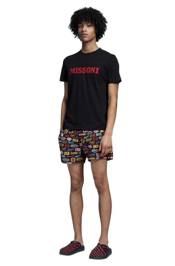 MISSONI Beachwear T-Shirt Man, Side view
