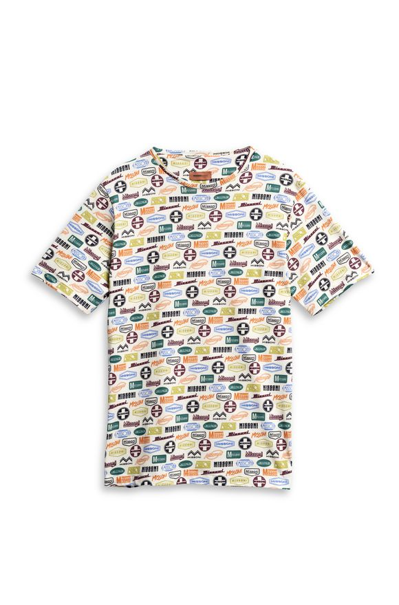 MISSONI Beachwear T-Shirt Beige Man