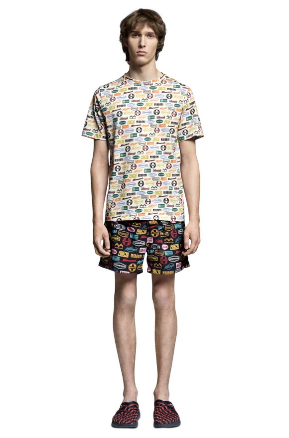 MISSONI Beachwear T-Shirt Man, Frontal view