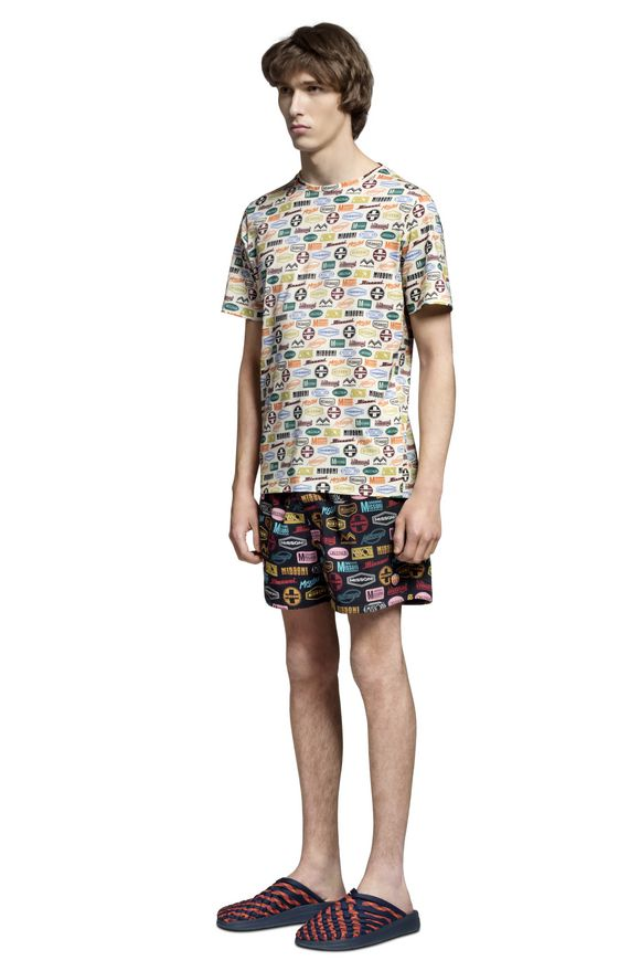 MISSONI T-shirt beachwear Uomo, Vista laterale