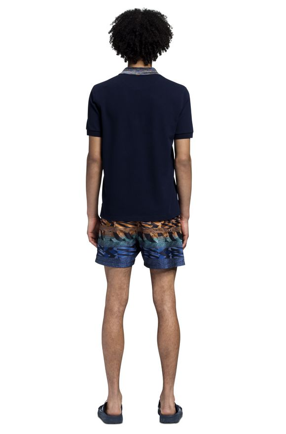 MISSONI Beachwear T-Shirt Man, Rear view