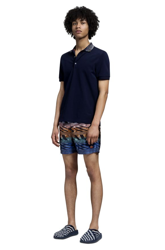 MISSONI Beachwear T-Shirt Man, Side view
