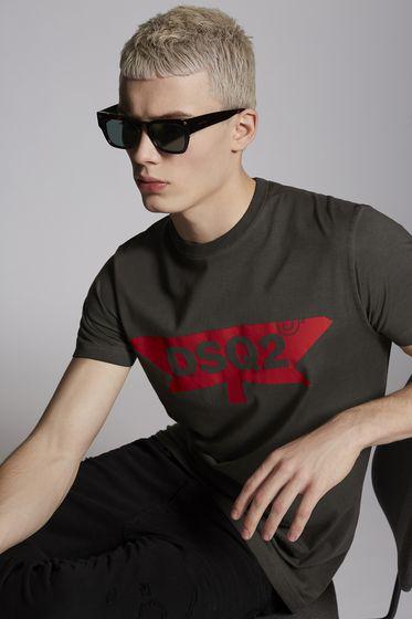 DSQUARED2 Short sleeve t-shirt [*** pickupInStoreShippingNotGuaranteed_info ***] S71GD0682S21600900 m