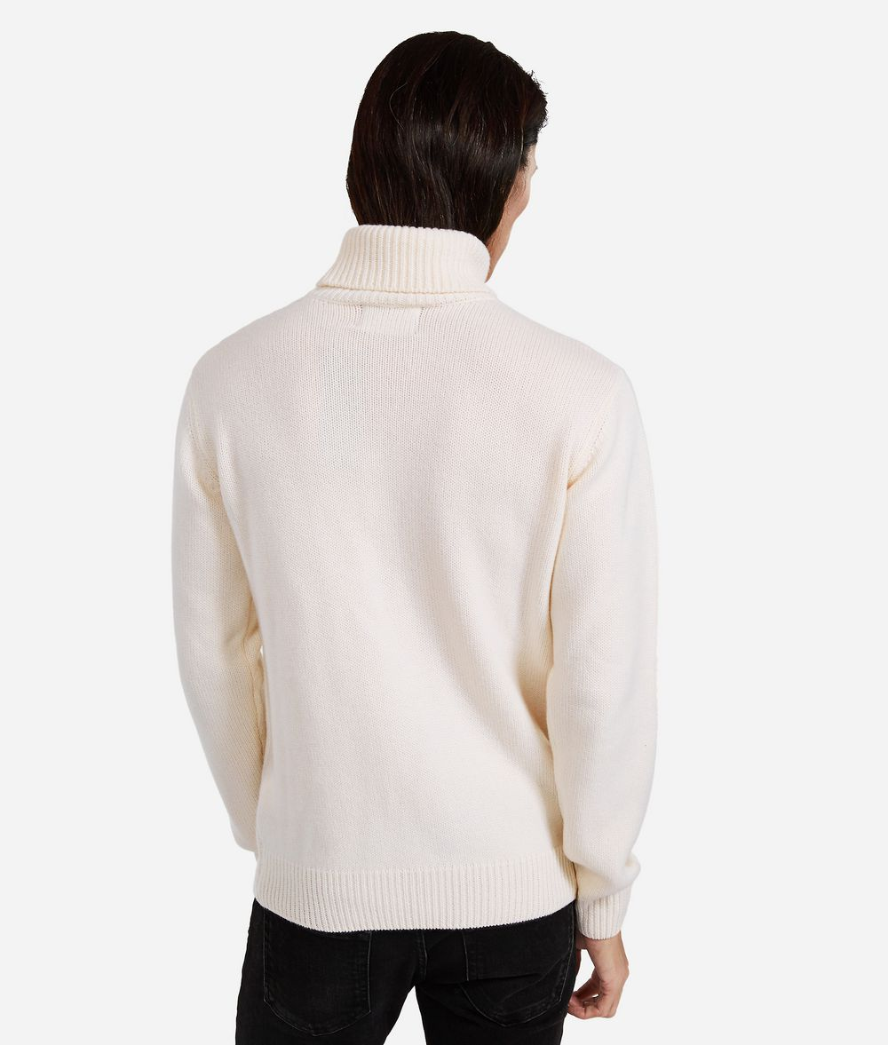 KARL LAGERFELD Cashmere Turtleneck Sweater Sweater Man d