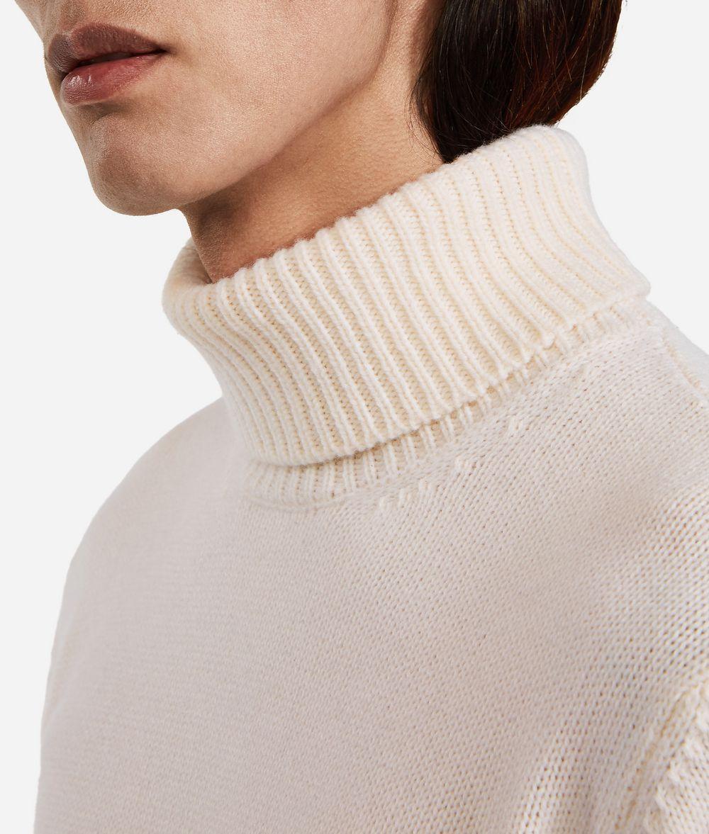 KARL LAGERFELD Cashmere Turtleneck Sweater Sweater Man f