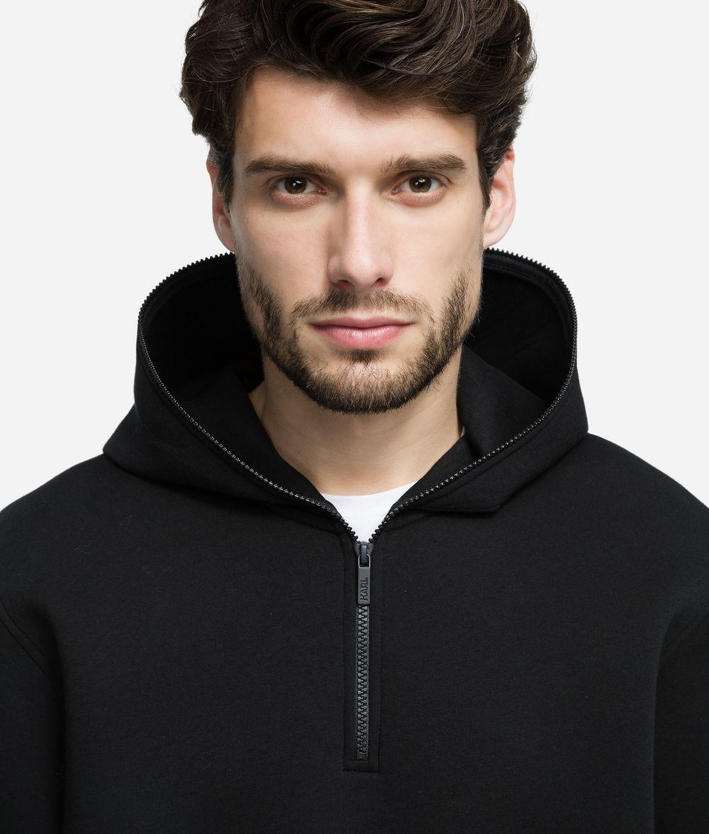 KARL LAGERFELD Color-blocked Hoodie Sweatshirt Man d