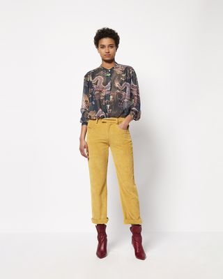 DAWS metallic printed shirt