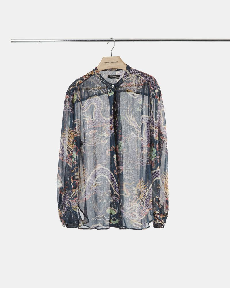 DAWS metallic printed shirt ISABEL MARANT